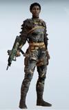 Melusi Mission Blacksmith Uniform