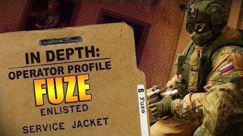 Rainbow Six Siege - Operator Profile FUZE