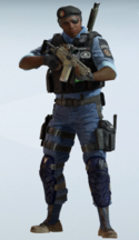 Capitao BOPE Utility Rig Uniform