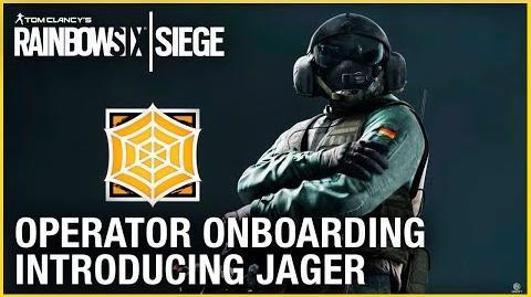 Rainbow Six Siege Operator Onboarding – Introducing Jager Ubisoft NA