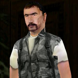 Terrorist armed with UZI