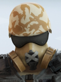 Mute Toxic Sandstorm Headgear
