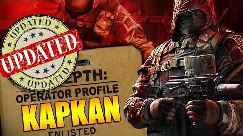 Rainbow Six Siege - In Depth UPDATED Operator Profile - KAPKAN