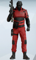 Vigil Red Jumpsuit Uniform