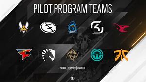 Pilot Program Phase 1 Teams