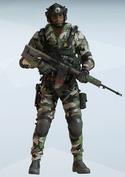 Jackal Masked Verdure Uniform