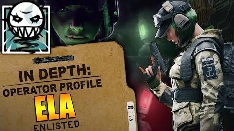 Rainbow Six Siege - Operator Profile ELA