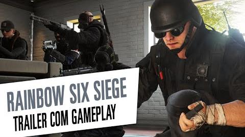 Rainbow Six Siege - Trailer Gameplay de Operadores Legendado-0