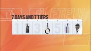 Siege Mini Battlepass Tiers