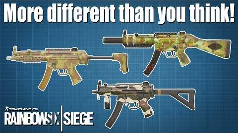 All the MP5s compared - Rainbow Six - Siege