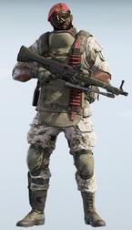 Maestro Creeping Chill Uniform