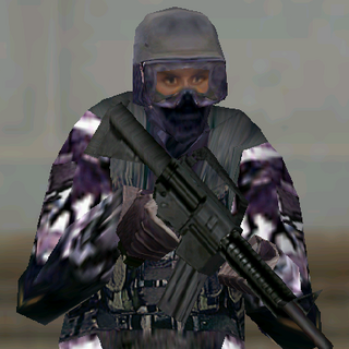 ---Street Medium Suit--- <br />This uniform is provides a good blend of protection and ease of movement. An excellent uniform choice for recon specialists in urban environments, it consists of a lightweight Level II waist-length tactical vest, a Kevlar Helmet, soft-soled rubber boots, Nomex balaclava,and Nomex/Kevlar gloves. The vest reliably stops most pistol and submachine gun rounds.