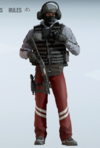 Bandit Crimson Dispatch Uniform
