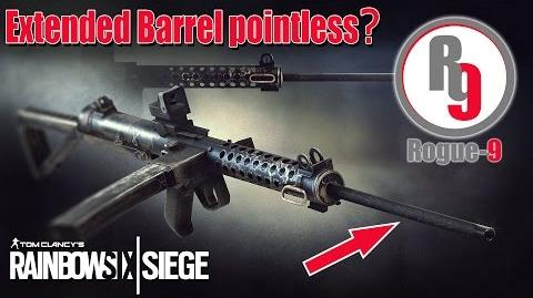 Extended Barrel is pointless? - Rainbow Six Siege