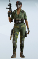 Caveira BOPE Jungle Fatigues Uniform