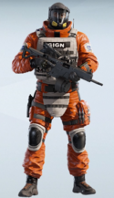 Lion Orbital Danger Uniform