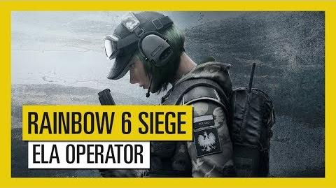 Tom Clancy's Rainbow Six Siege - Blood Orchid Ela Operator