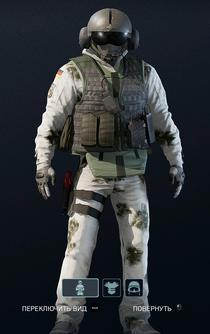 Jäger Frostbite Uniform