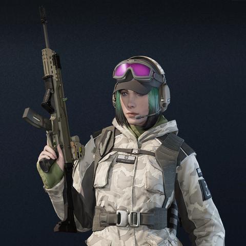Ela armed with Scorpion EVO 3 A1