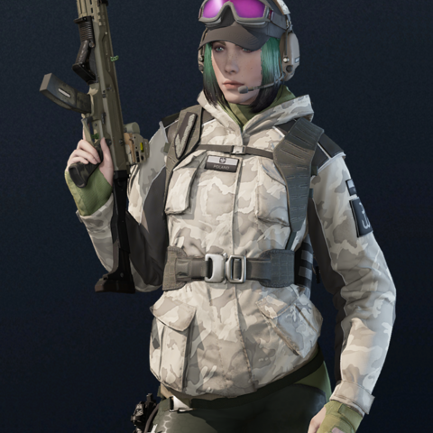 Ela armed with Scorpion EVO 3 A1