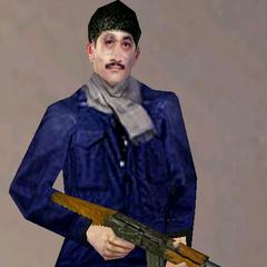 Vezirzade's bodyguard