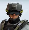 Lesion Adaptive Cap Headgear