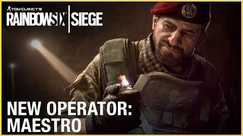 Rainbow Six Siege Operation Para Bellum - Maestro Trailer Ubisoft NA