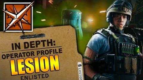 Rainbow Six Siege - In Depth- HOW TO USE LESION - OPERATOR PROFILE