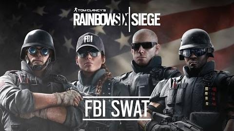 Inside Rainbow -2- The FBI-SWAT Unit - Tom Clancy's Rainbow Six Siege Official Trailer