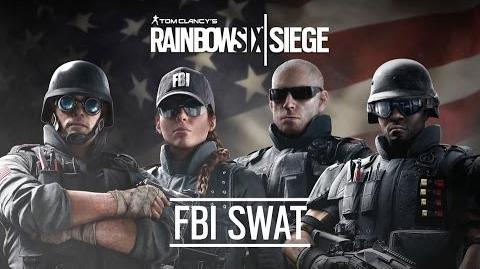 Inside Rainbow -2- The FBI-SWAT Unit - Tom Clancy's Rainbow Six Siege Official Trailer