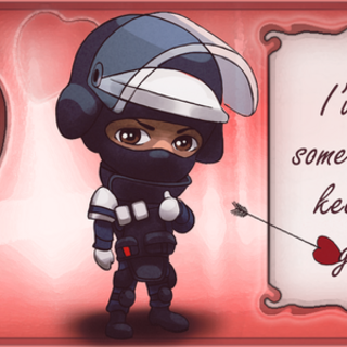Official Valentine's Day art of Doc