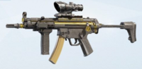 Gold Dust MP5 Skin