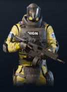 Lion armed with V308