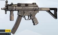 Engraved MP5K Skin