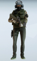 IQ Splittermuster Uniform