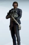 Warden Dashing Lane Uniform