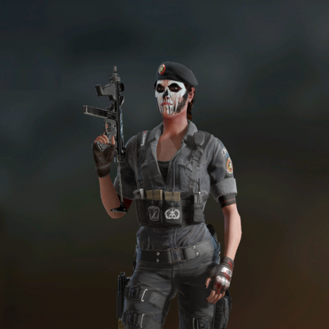 Caveira armed with M12 (Post-Blood Orchid)