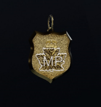 Canadian MP Badge Charm