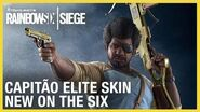 Rainbow Six Siege Capitão Elite Set - New on the Six Ubisoft NA