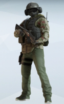 Jager Splittermuster Uniform