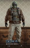 Fuze Danger Stunt Uniform