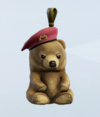 Lieutenant Bear Charm