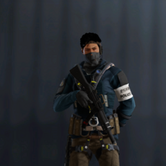 Echo armed with MP5SD (Pre-Blood Orchid)