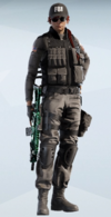 Ash Concrete Directive Uniform