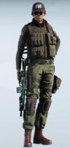 Ash Paramilitary Uniform