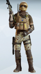 Mozzie Default Uniform
