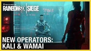 Rainbow Six Siege Operation Shifting Tides – Kali & Wamai Trailer Ubisoft NA