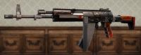 Silver Spiral AK-12 Skin