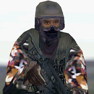 ---Street Medium Suit--- <br />This uniform is provides a good blend of protection and ease of movement. An excellent uniform choice for recon specialists in urban environments, it consists of a Level II waist-length tactical vest, a Kevlar Helmet, soft-soled rubber boots, Nomex balaclava,and Nomex/Kevlar gloves. The vest reliably stops most pistol and submachine gun rounds.