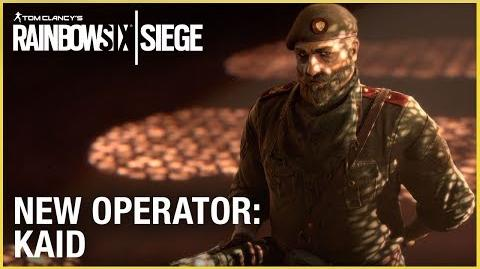 Rainbow Six Siege Operation Wind Bastion - Kaid Trailer Ubisoft NA